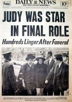 Judy Garland Found Dead Pictures to Pin on Pinterest - PinsDaddy
