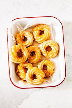 apple cider crullers donuts with apple honey glaze recipe hummingbird high