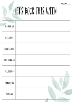 Week Planner, Planner Pages, Happy Planner, Weekly Planner Template, Weekly Planner Printable, Bullet Journal Ideas Pages, Journal Entries, Agenda Organization, Organization Ideas