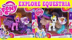 My Little Pony Explore Equestria Princess Celestia Twilight Sparkle Shimmer Flutters SETC
