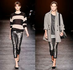 Sequined leggings! LOVE them paired with neutral colored tops. So fun!
