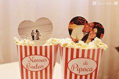 Decore as bodas de pipoca com esse material disponível para download no site www.nossasbodas.com