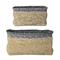 Bloomingville Raffia baskets - perfect for bathroom storage