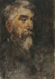 Anton Mauve - Zelfportret (1875)