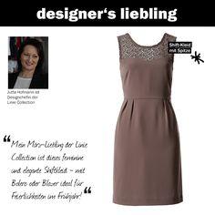 Der März-Liebling unserer Designchefin Jutta #zerofashion #kleid #spitze