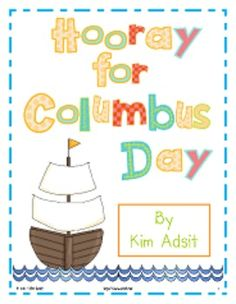 Land Ho! This super cute packet will teach your little explorers all about Christopher Columbus while teaching many math and literacy standards. Th...