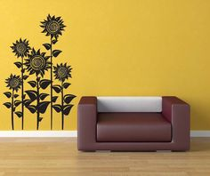 Hey, I found this really awesome Etsy listing at http://www.etsy.com/listing/98975393/sunflowers-decal-sticker-vinyl-wall-home