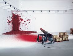Shooting Into the Corner by Anish Kapoor