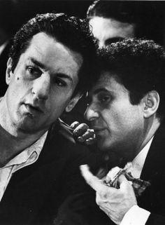"Robert De Niro and Joe Pesci in ""Raging Bull"" (1980). COUNTRY: United States. DIRECTOR: Martin Scorsese."