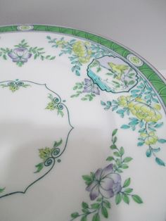 Purple and Green! RARE Colored Minton Japonica 10 Dinner Plates B889 Rdno 621111 Year 1915 | eBay