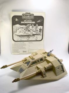 Vintage Kenner Star Wars Armored Snowspeeder Complete with Instructions 1980