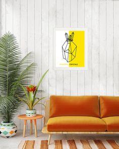 Pineapple Art Print, Wall Art, Printable Art, Tropical Pineapple Poster, Pineapple Kitchen Decor, Tropical Print, Tropical Wall Art, Fruit