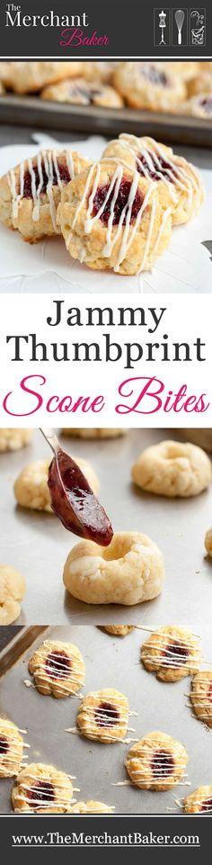 Jammy Thumbprint Scone Bites