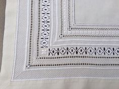 Detail from my Schwalm tablecloth