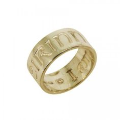 Ladies I am of Ireland Ring - 14K Gold