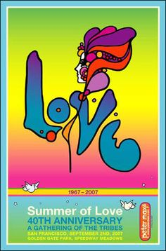 18 x 12 inches © Peter Max - 2007 * Posters sold signed and dedicated only. * Dedications must include a name(s).  $260