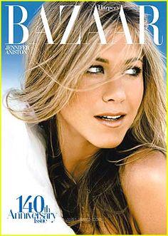 Jennifer Aniston November 2007 Front cover  Blue-tiful cover!!