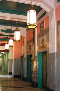 The Art Deco Threefoot building, designed  Fort,   Meridian, Mississippi