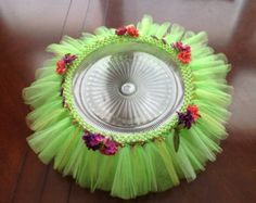 Tinkerbell Inspired Cake Stand Tutu