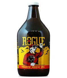 Rogue Ales Growler. Beer
