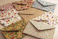 Envelopes de tecido by Zoopress studio on Flickr.