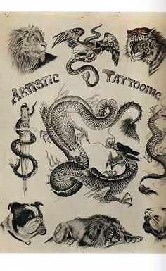 From King of Tattooists: The Life and Work of George Burchett