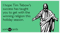 oh Tim Tebow..you will never live this down..