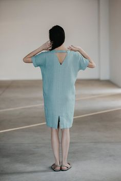 Hey, I found this really awesome Etsy listing at https://www.etsy.com/au/listing/240249004/linen-dress-motumo-15s7