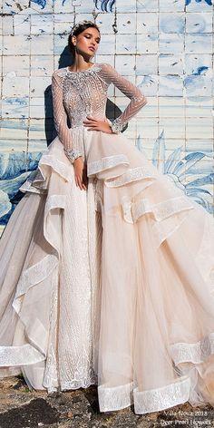 Milla Nova Wedding Dresses 2018 Panelopa2  #wedding #weddingdress #weddingideas #deerpearlflowers #dpf ❤️ http://www.deerpearlflowers.com/long-sleeves-wedding-dresses/