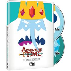 Adventure Time Season 2 on DVD and Blu-ray is finally out today!