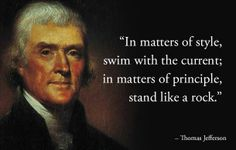 Stand by the principle of limited government !