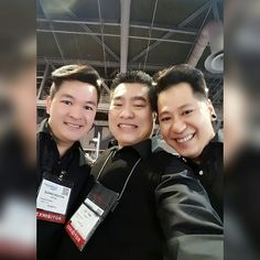 With Matthew Nguyen and Sean Phan at the 2017 ISSE Long Beach, 01/2017.