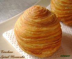 Thousand Layers Spiral Mooncake | The Waitakere Redneck's Kitchen