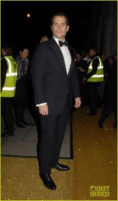 Henry Cavill & Sam Claflin Suit Up for BAFTA Fundraising Gala