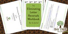 The Eliminating Letter Reversals Workbook (BayTreeBlog.com)