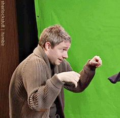 OMG, this gif set is adorable! Love Martin!