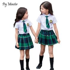 Young Girl Models, Cool School Supplies, School Girl Dress, Cute Kids Fashion, School Uniforms, Too Cool For School, Pre School, Skater Skirt, Little Girls