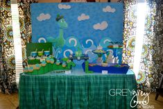 Great ideas for a Loch Ness Monster party!
