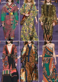 Etro – Fall 2017 – RTW – Milan Fashion Week – Print & Pattern Highlight | Patternbank