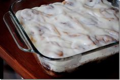 No Yeast Required Cinnamon Rolls are pillowy and sweet, and require no yeast to make them!  | iowagirleats.com
