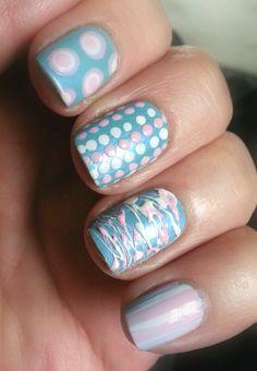 Pretty pastel color nails  #nailarts #nail designs #manicure