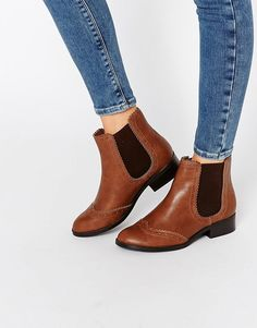 New+Look+Flat+Chelsea+Boot