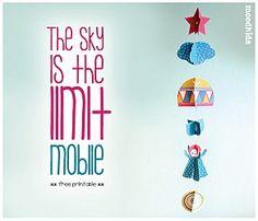 free printable mobile-móvil