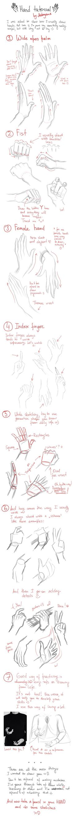Hände zeichnen lernen Hands tutorial (Hands are the worst, this will definitely come in handy. No pun intended) Drawing Lessons, Drawing Techniques, Drawing Tutorials, Drawing Tips, Art Tutorials, Drawing Sketches, Painting & Drawing, Art Drawings, Drawing Hands