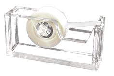 Amazon.com: Kantek Acrylic Tape Dispenser, 2 3/4 x 6 x 1 3/4 Inches , Clear (AD60): Office Products