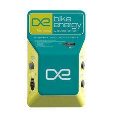 bike-energy Ladestation POINT P3B - zum laden von bis zu 3 E-Bikes E Biker, Filling Station
