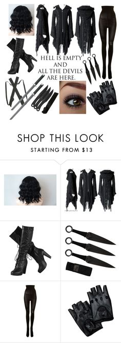 """""""Hell is Empty"""" by jay-cee-23 ❤ liked on Polyvore featuring SPANX"""