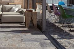 Bengal Rust Slate Effect Porcelain Tiles 30x60cm - Tons of Tiles