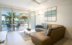 One Bedroom Noosa Apartments Beach Hotels, One Bedroom, Apartments, Couch, Furniture, Home Decor, Settee, Room Decor, Couches