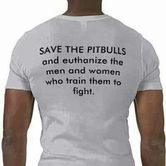 Save the Pitbulls